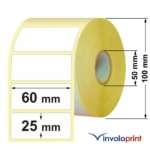 Etichette Adesive 60×25