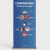 roll-up avvertenze coronavirus