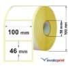 etichette adesive 100x46