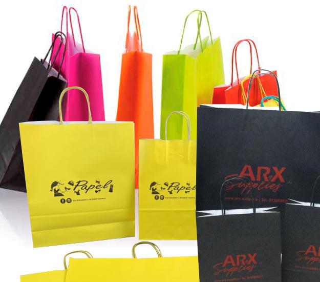 shopper di carta personalizzate